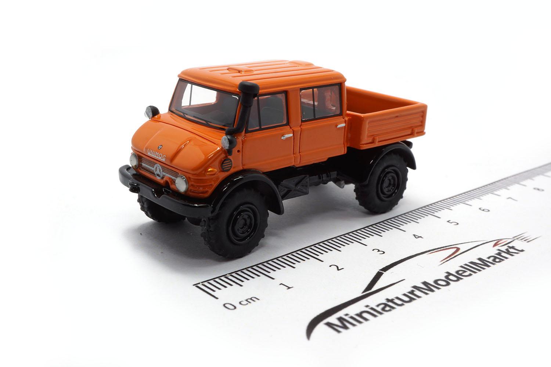 87316 bos models mercedes unimog u416 doka orange. Black Bedroom Furniture Sets. Home Design Ideas
