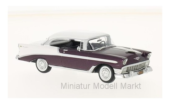 1958-1:43 Neo Chevrolet Bel Air Impala convertible-rojo//blanco #49567