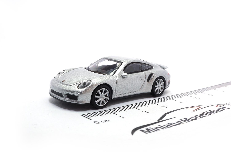 - silber 991 Schuco Porsche 911 #452633100 - 1:87 26331