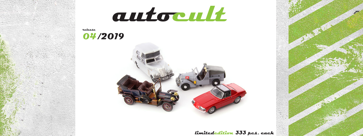 Autocult Neuheiten April 2019