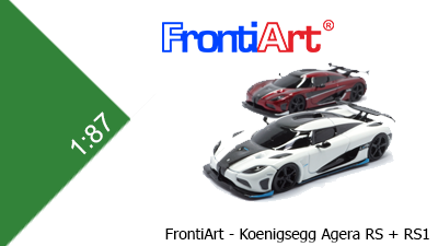 Koenigsegg Agera RS + RS1 (FrontiArt)