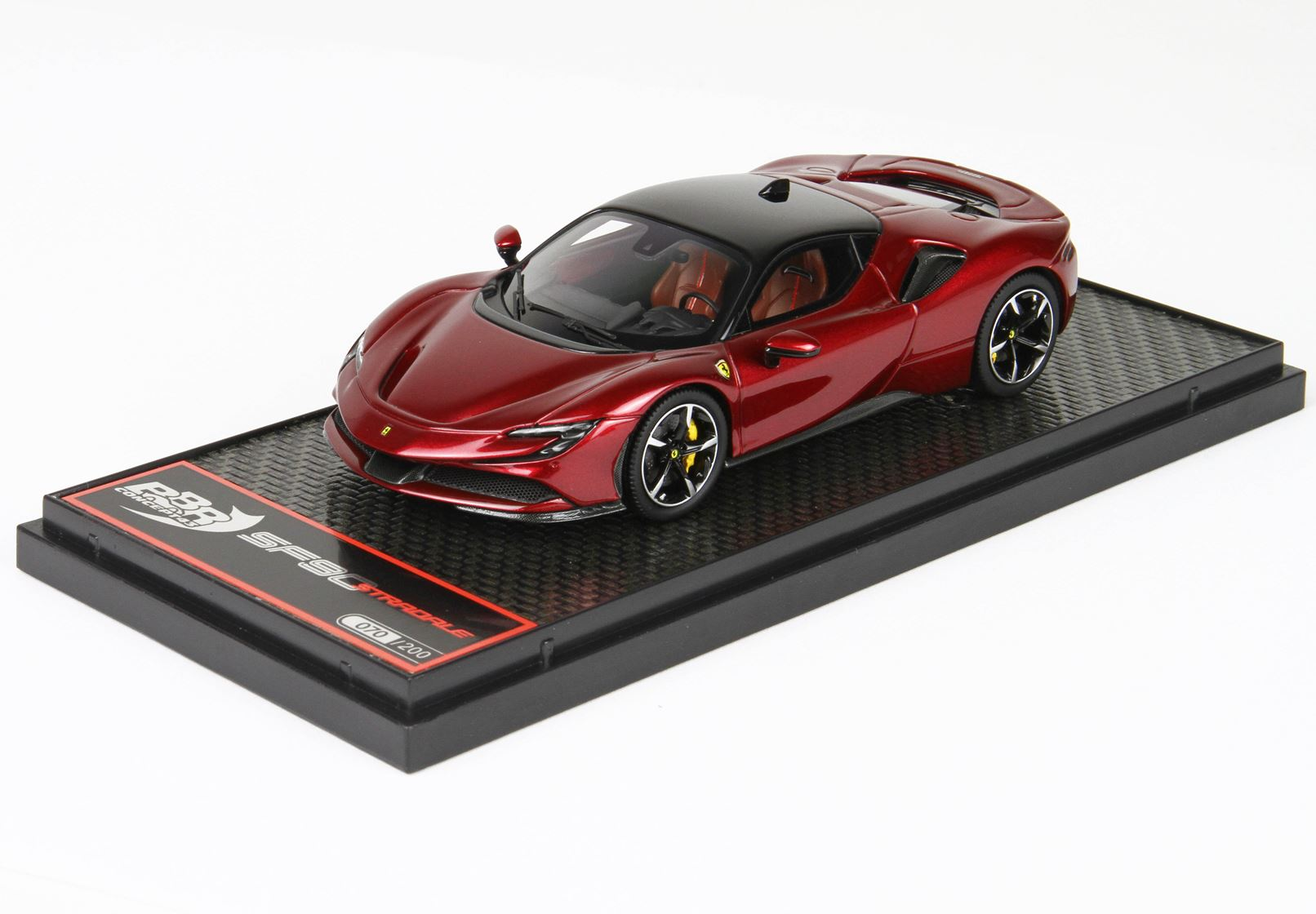 BBR BBRC228C Ferrari SF90 Stradale - Metallic Red 1:43
