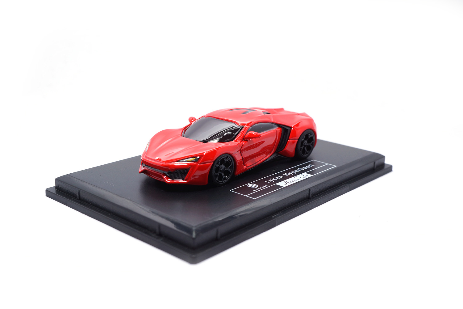 FrontiArt AS015-06 W-Motors Lykan HyperSport - Red 1:87