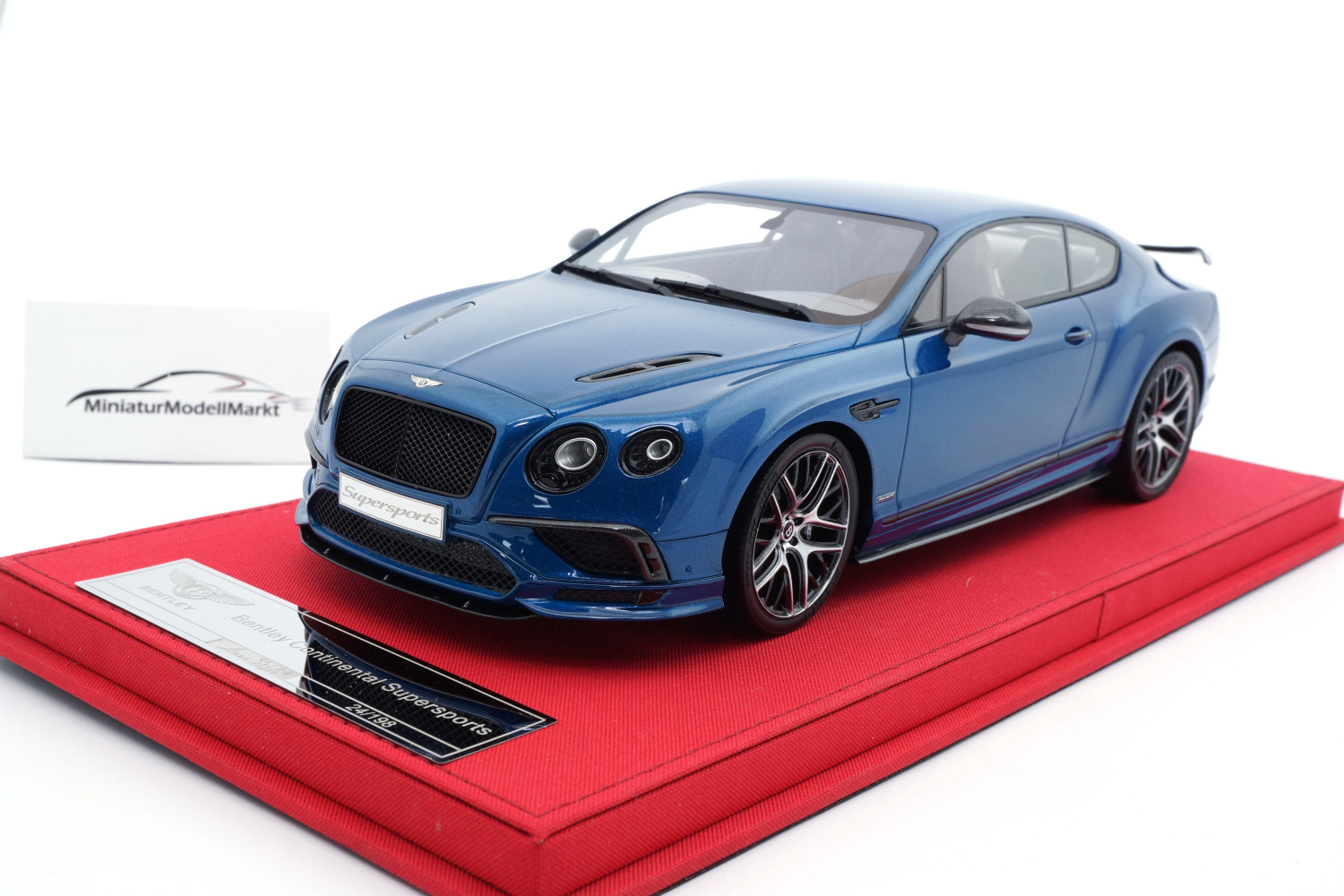FrontiArt AS019-139 Bentley Continental Supersports - Sequin Blue 1:18