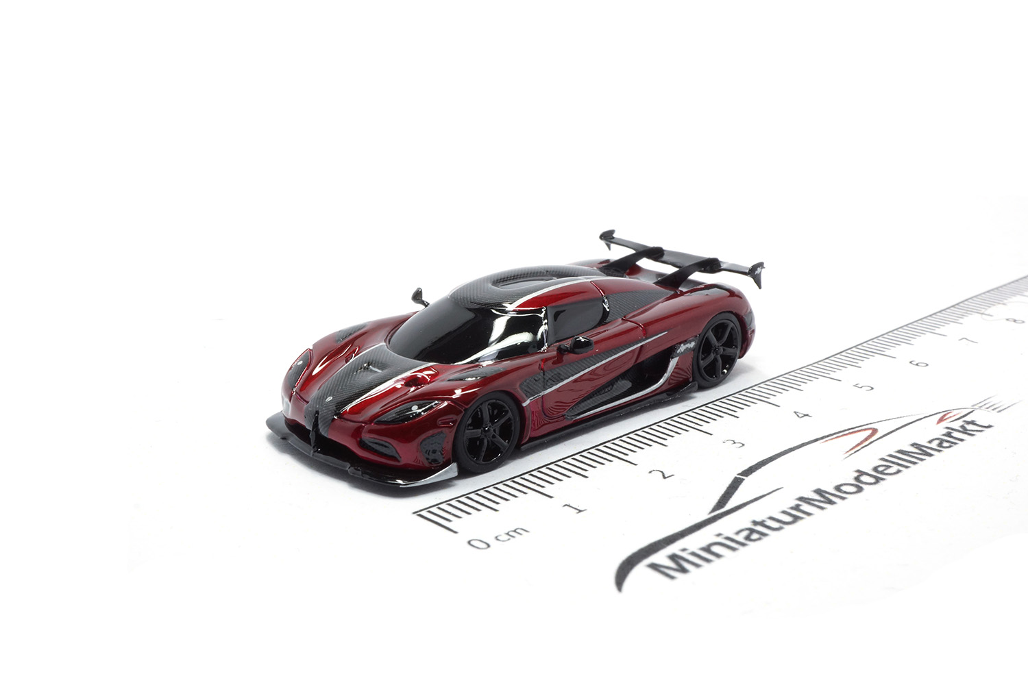 FrontiArt AS022-112 Koenigsegg Agera RS - Burgundy red 1:87