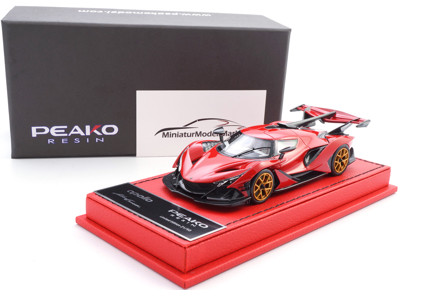 Peako 32903 Apollo Automobil Apollo IE - Red 1:43
