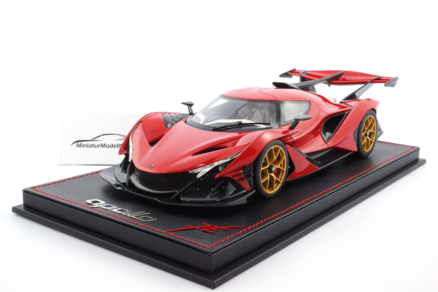 Peako 82903 Apollo Automobil Apollo IE - Red 1:18