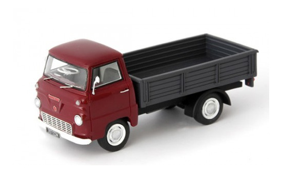 Autocult 08001 Ford Thames 400E Pritsche, dunkelrot 1:43