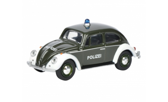 vw k fer polizei 1 64 im ma stab 1 64 von schuco miniaturmodellmarkt. Black Bedroom Furniture Sets. Home Design Ideas