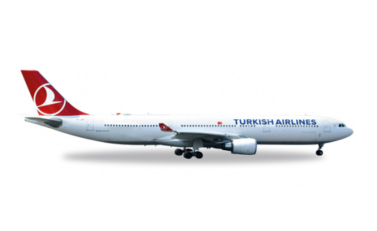 Herpa 558105 Turkish Airlines Airbus A330-300