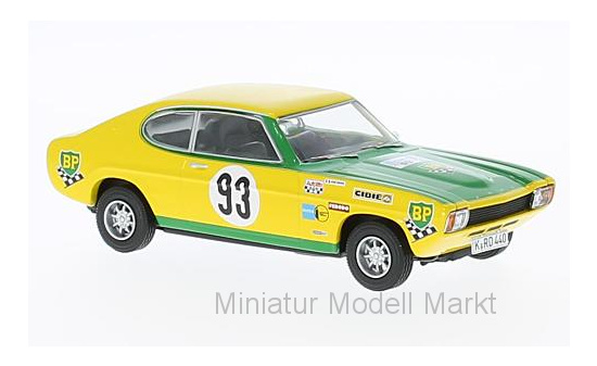 Vanguards VA13312 Ford Capri RS2600 MK1, No.93, Tour de France Auto, J.F.Piot/J.Behra 1:43