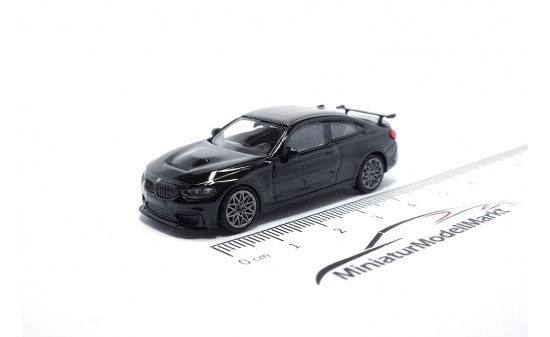 Minichamps 870027106 BMW M4 GTS - 2016 - BLACK METALLIC W/ GREY WHEELS - Vorbestellung 1:87