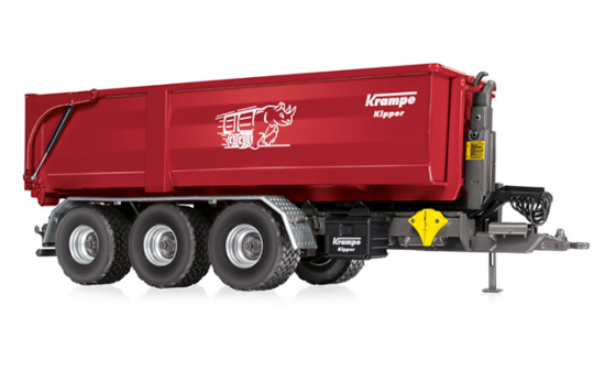 Wiking 077826 Krampe Hakenlift THL 30 L mit Abrollcontainer Big Body 750 1:32
