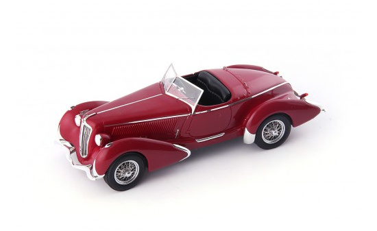Autocult 02017 Amilcar G36 Pegase GP Roadster, d.rot 1:43