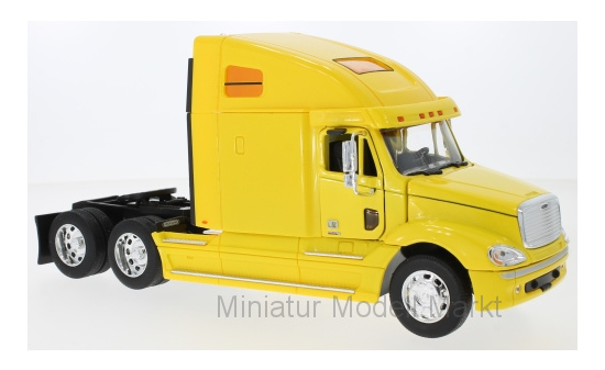 Welly 32620YELLOW Freightliner Columbia, gelb 1:32