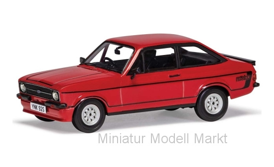 Vanguards VA12615 Ford Escort MkII RS Mexico, rot, RHD, 1975 1:43