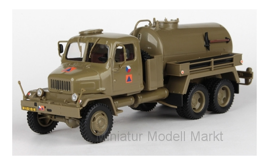Abrex 143T-005H2 Praga V3S Tankwagen, Czech Army Civil Defense, 1967 1:43