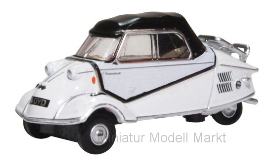 Oxford 76MBC005 Messerschmitt KR200 Bubble, weiss 1:76