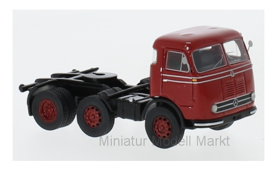 BoS-Models 87566 Mercedes LPS 333, rot, 1960 1:87