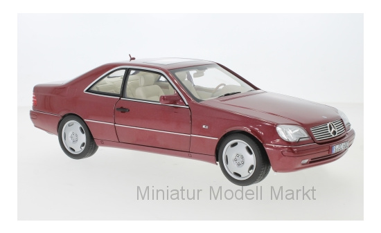 Norev B66040651 Mercedes CL 600 (C140), metallic-rot, 1996 1:18