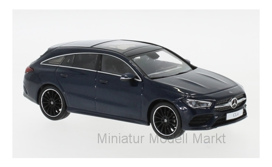 Spark B66960475 Mercedes CLA Shooting Brake, metallic-dunkelblau, 2019 1:43