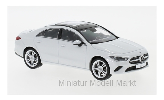 Spark B66960470 Mercedes CLA Coupe (C118), metallic-weiss 1:43