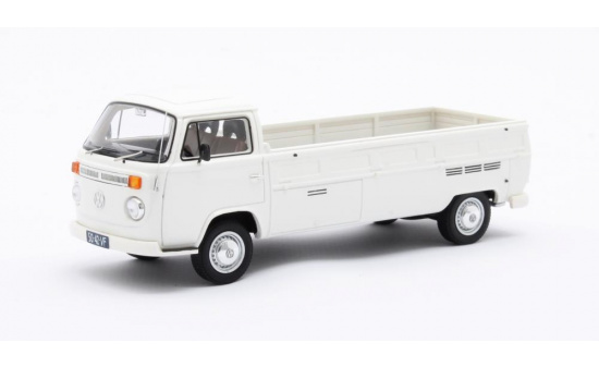 Matrix Scale Models 42105-042 VW T2 Kemperink Special Pick-Up LWB white 1976 1:43