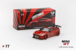 #00009-L Mini GT Liberty Walk Nissan GT-R R35 Matt Weiß 1:64