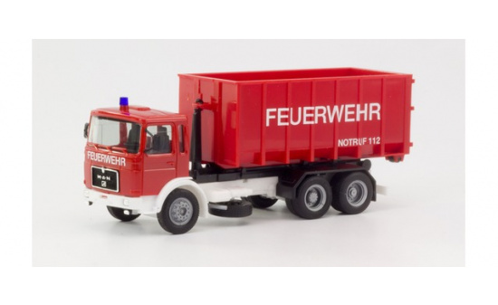 Herpa 310963 MAN F8 Abrollcontainer-LKW