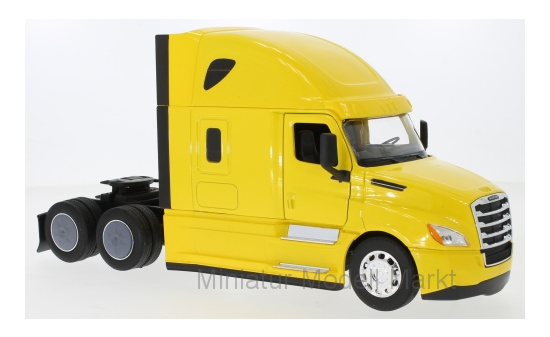 Welly 32695-Yellow Freightliner Cascadia, gelb 1:32