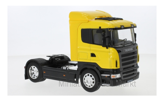 Welly 32625Yellow Scania R470, gelb 1:32
