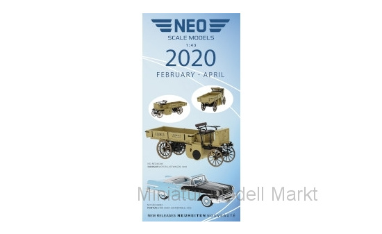Neo FLY202 Flyer February - April 2020