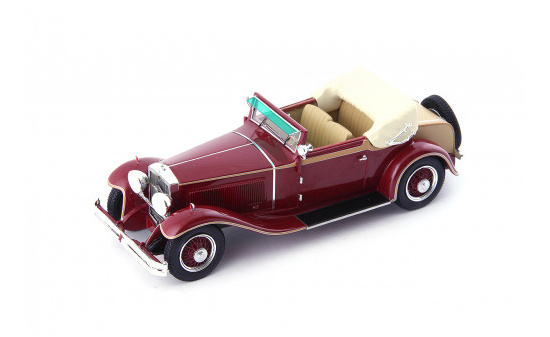 Autocult 01010 Simson Supra 18/90 Typ A, rot 1:43