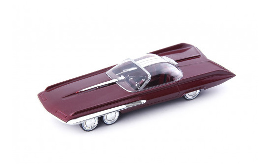 Autocult 06037 Ford Seattle-ite XXI, dunkelrot 1:43