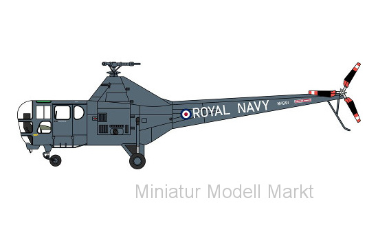Oxford 72WD001 Westland Dragonfly, Royal Navy WH991 Yorkshire Air Mus - Vorbestellung 1:72