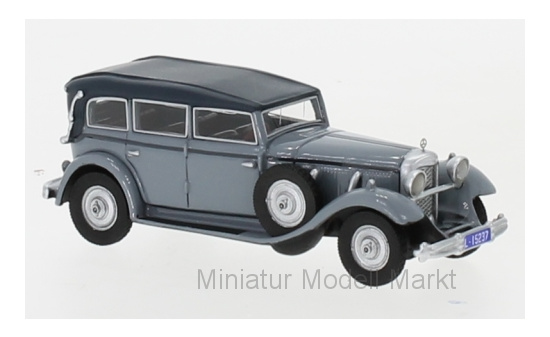 BoS-Models 87725 Mercedes 770 (W07) Closed Convertible, grau, RHD, 1930 1:87