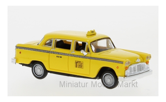 Brekina 58920 Checker Cab, New York, 1987 1:87