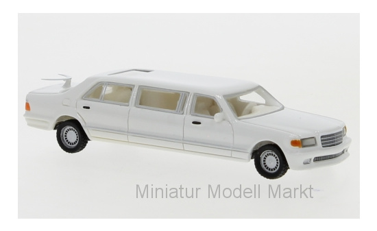 BoS-Models 87691 Mercedes V126 Trasco, weiss, 1990 1:87
