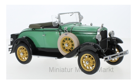 Sun Star 6127 Ford Model A Roadster, grün, 1931 1:18