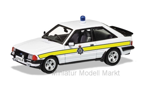 Vanguards VA11012 Ford Escort Mk III XR3i, RHD, Durham Constabulary, 1983 1:43