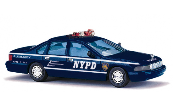 Busch 47611 Chevy, NYPD Auxiliary Police - Vorbestellung