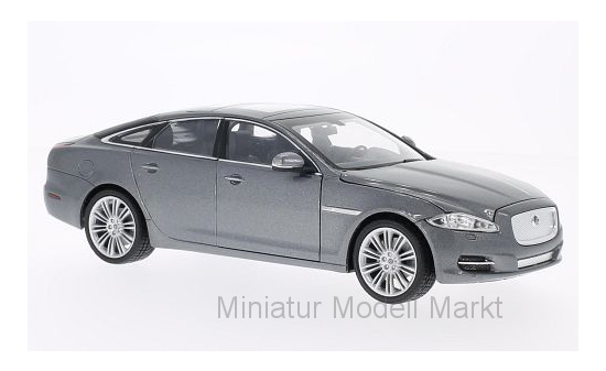 Welly 22517MET-GREY Jaguar XJ, metallic-grau, 2010 1:24