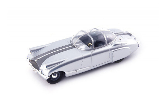 Autocult 06040 Lysell Rally, silber-met. 1:43