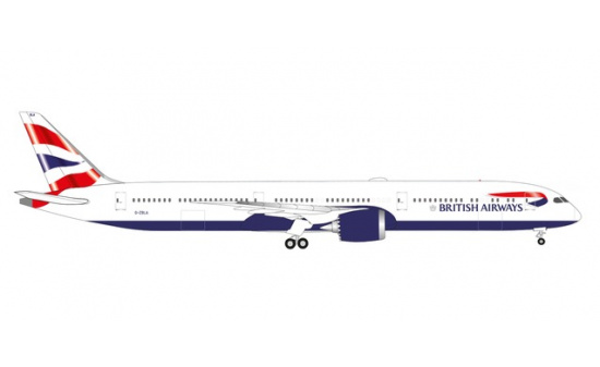 Herpa 534802 British Airways Boeing 787-10 Dreamliner G-ZBLA - Vorbestellung 1:500