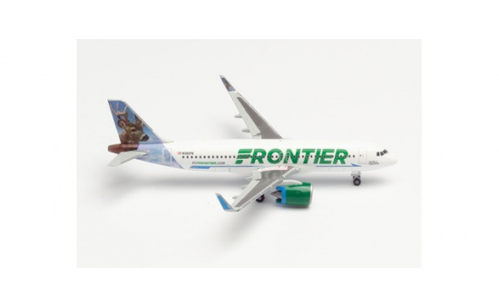 Herpa 534833 Frontier Airlines Airbus A320neo - N301FR