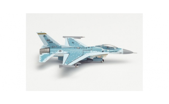 Herpa 571159 U.S. Air Force Lockheed Martin F-16C Fighting Falcon - 64th Aggressor Squadron, Nellis Air Base