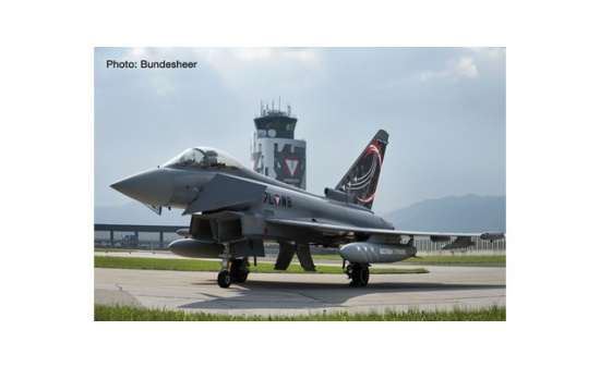 Herpa 571210 Austrian Air Force Eurofighter Typhoon -Überwachungsgeschwader, Zeltweg Air Base