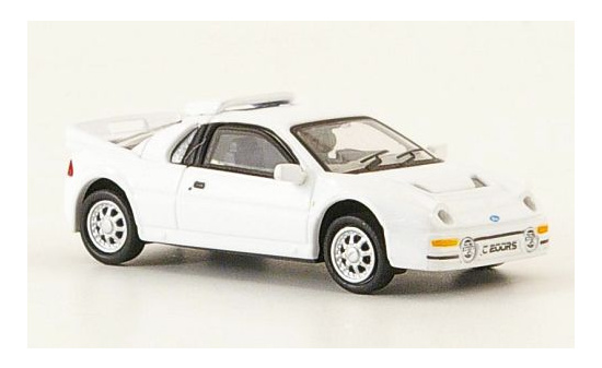 Ricko 38337 Ford RS 200, weiss, 1986 1:87