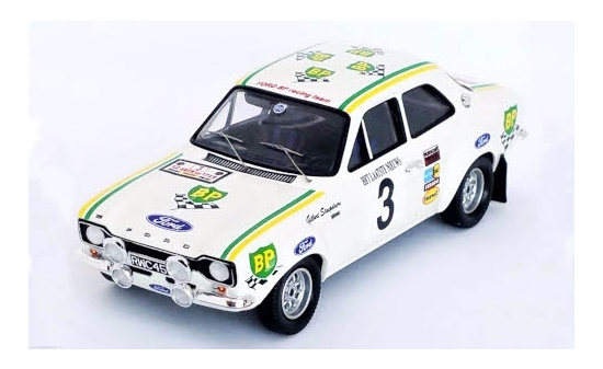 Trofeu RRBE24 Ford Escort MkI RS2000, No.3, Ford BP Racing Team, BP, Rally Ypern, G.Staepelaere/A.Aerts, 1972 1:43