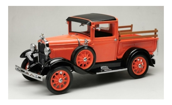 Sun Star 6116 Ford Model A Pick Up, orange/schwarz, 1931 1:18